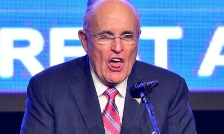 """Rudy Giuliani Got Caught Together with his Hands Down His Pants Throughout a Prank For """"Borat 2"""""""