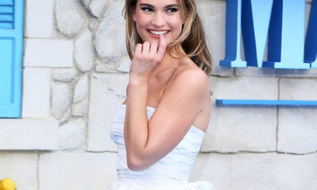 Lily James Allegedly Thought Dominic West And His Wife Recently had an Arrangement
