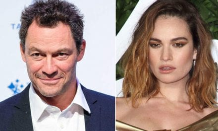 Lily James Might Have Called Dominic West's Wife To Explain Aside Those Pictures