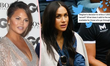 Chrissy Teigen SAVAGES Troll Whom Criticized Meghan Markle' s i9000 Miscarriage Op-Ed!