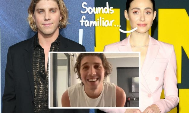 Emmy Rossum Thinks She Understands The Rude Director' h Voice In Lukas Gage' s Viral Zoom Season casting Video!