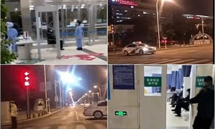 COVID-19 Continues to Spread in China's Tianjin City, Hospital Secured Down