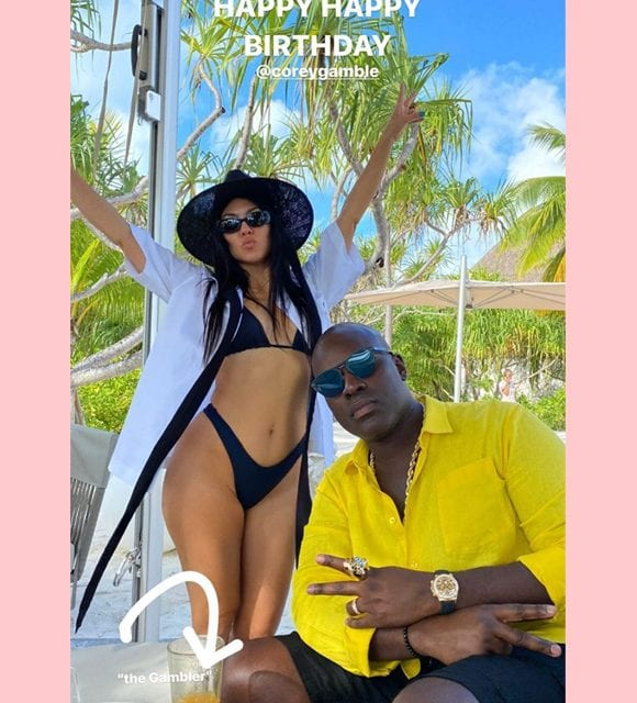 Kris Jenner Has A Hilariously NSFW Birthday Message For Corey Gamble