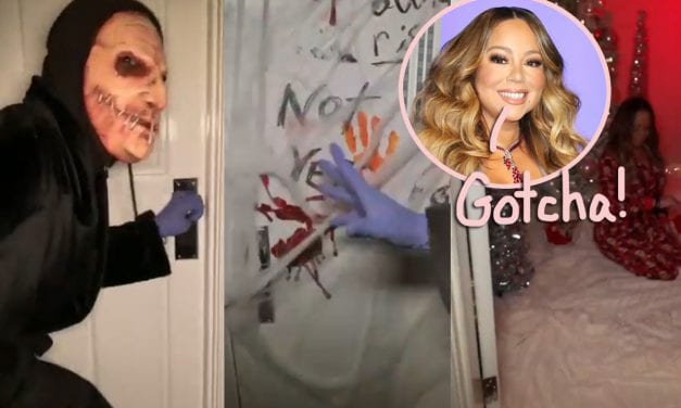 Mariah Carey Masterfully Trolls The planet With A Halloween Vid Teasing THAT Upcoming Holiday…