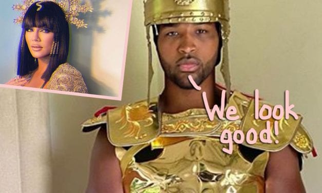 Khloé Kardashian & Tristan Thompson Flawlessly Executed A Family Costume! Look!