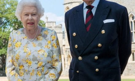 Knight in shining armor Philip And The Queen Commemorate 73 Years Of Wedded Happiness