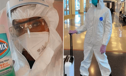 Naomi Campbell Buys Her Hazmat Suits In Bulk From Amazon . com