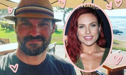 Brian Austin Green & Sharna Burgess Share Cagey Pics From Their Getaway Together — Why Are They Hiding??