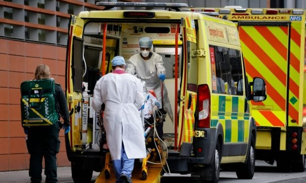 UNITED KINGDOM Reports 1, 820 CCP Virus-Related Deaths, Setting Brand new Daily Record