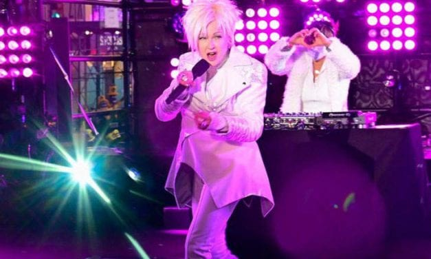 Open up New Year's Day Blog post: Hosted By Cyndi Lauper's NYE Performance
