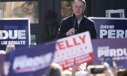 Sen. David Perdue Enters Pen Days Before Runoffs Right after COVID-19 Exposure