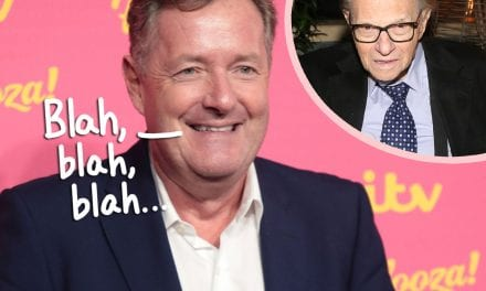 Piers Morgan SLAMMED On Tweets For Making Larry King' s i9000 Death All About Himself!