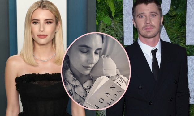 Emma Roberts Is A 'Super Hands-On' New Momma & Garrett Hedlund Just Loves Full About Their Son Rhodes!