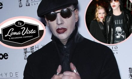 Marilyn Manson Removed From Record Label's Website Following Evan Rachel Wood Allegations