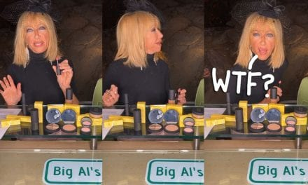 House Intruder Interrupts Suzanne Somers' Makeup Live Stream — And She' s THEREFORE Cool About It! WATCH!