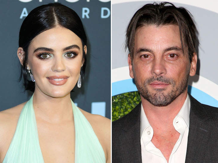 Lucy Hale Was Photographed The kiss Skeet Ulrich
