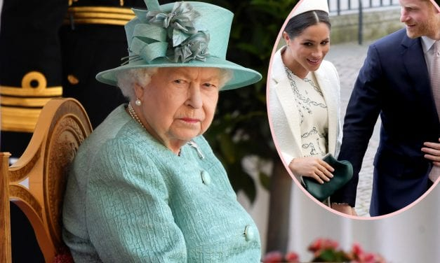 Princess or queen Elizabeth Talks Oneness Hours Ahead Of Meghan Markle & Knight in shining armor Harry's Tell-All Job interview