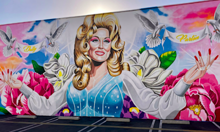 Open up Post: Hosted Simply by This Orange Region Gay Club's Junk Parton Mural