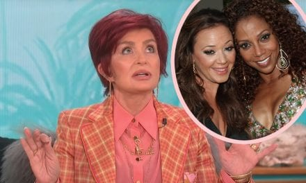 Endure, Did Sharon Osbourne Get The Talk Co-Host Holly Robinson Peete FIRED Because The lady Was ' As well Ghetto'?!