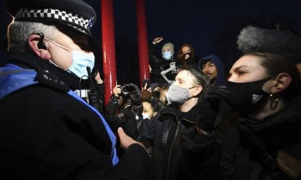 Greater london Police Chief States She Won't Stop After Vigil Clashes