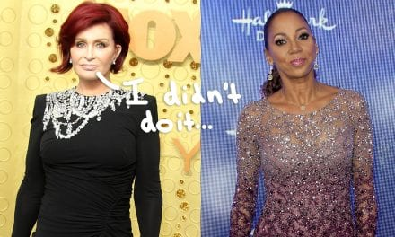 Sharon Osbourne Says The girl Never Had Holly Robinson Peete Terminated From The Talk To be 'Too Ghetto'