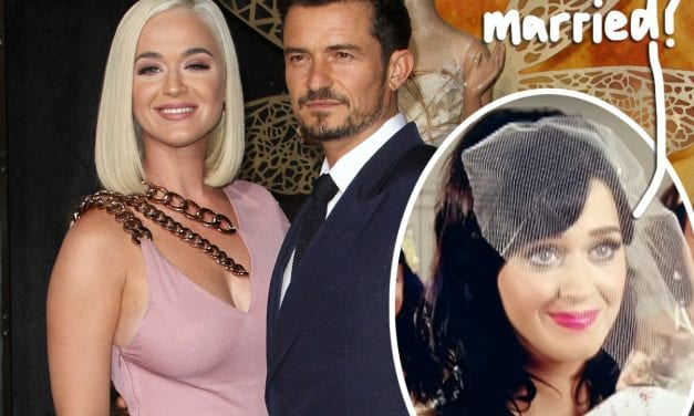 Katy Perry Spotted Putting on Wedding Ring! Did The lady & Orlando Blossom Secretly Get Married!?