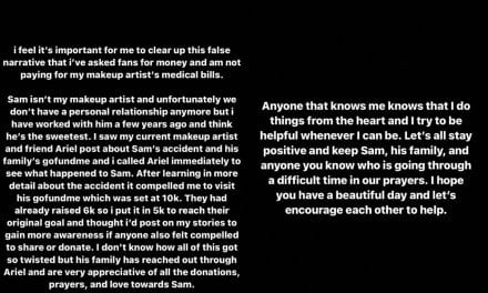 Kylie Jenner Bashes ' False Narrative' Right after Catching Heat Just for Promoting Makeup Artist' s GoFundMe