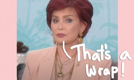 Sharon Osbourne LEAVES The particular Talk Following Racism Controversy! Read Their particular Statement!