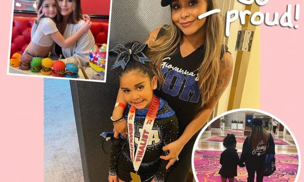 GEEZ! Snooki & JWoww Are Now Cheer Mothers Together!