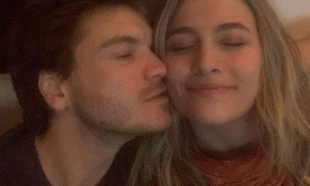 Paris, france Jackson Says She's Just Friends Along with Old Man Emile Hirsch