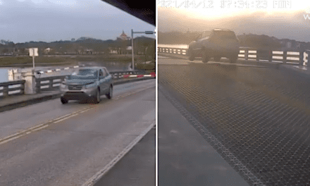Open up Post: Hosted With a Florida Driver Leaping A Drawbridge