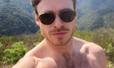 Open up Post: Hosted Simply by Richard Madden Protected In Goo