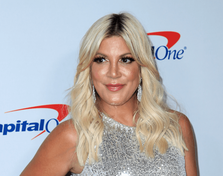 Tori Spelling Claims The Press Is To Blame For Her April Fools' Day Stunt