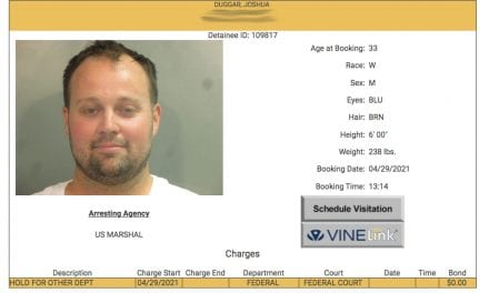 Josh Duggar Arrested Simply by Federal Agents Within Arkansas — Mugshot & Details RIGHT HERE