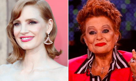 Here is Your First Look At Jessica Chastain As Tammy Faye Bakker
