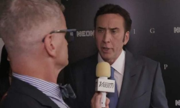"""Nicolas Cage Brought Their Wife To The Crimson Carpet For Their New Movie """"Pig"""" And Announced Their """"Tiger King"""" Display Isn't Happening"""
