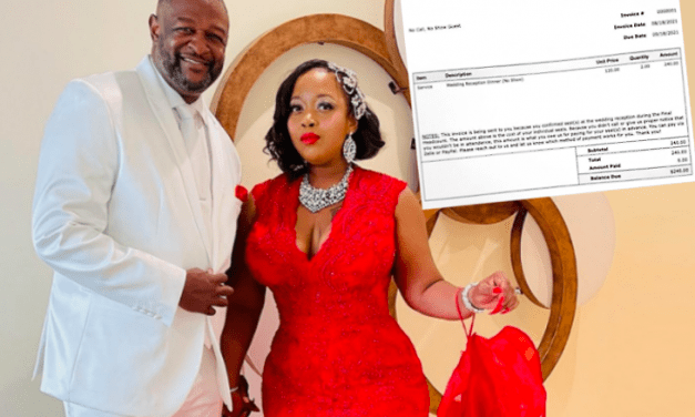 Open up Post: Hosted By $240 Invoice That the Newlywed Couple Delivered To Their No-Show Wedding ceremony Guests