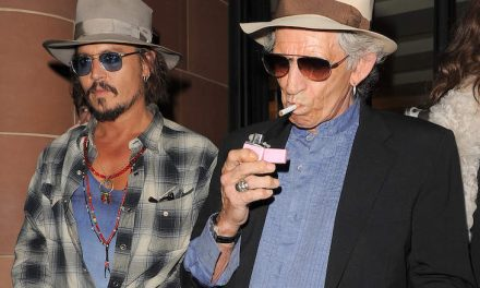Moving Stone Published The Weird, Awkward Dropped Interview Between Ashton Depp And Keith Richards